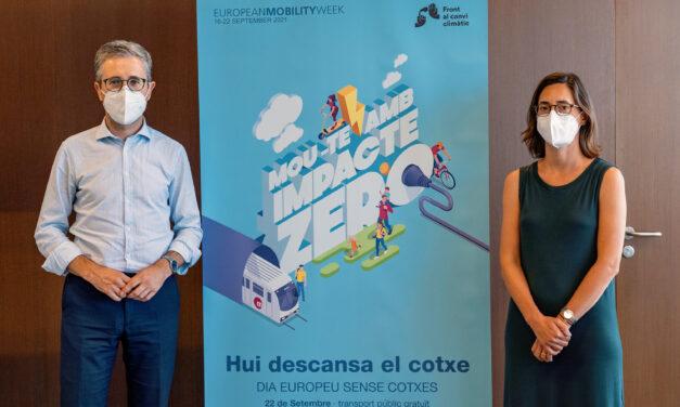 La Generalitat se suma a la Semana Europea de la Movilidad con el lema 'Mou-te amb Impacte Zero'