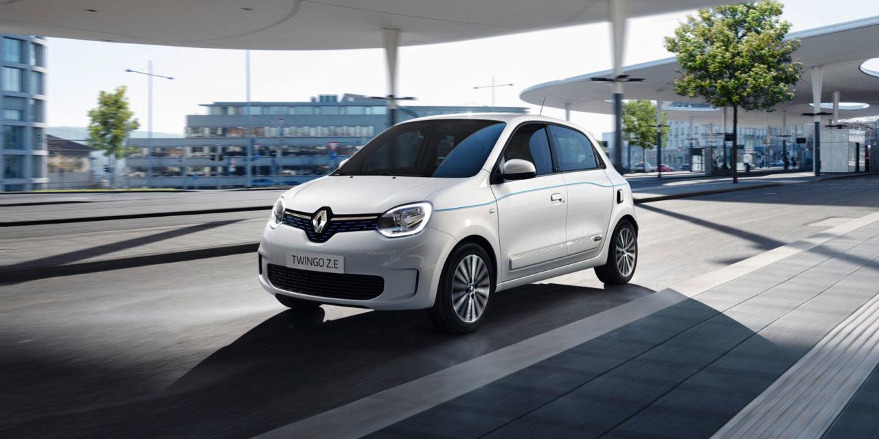 Twingo ZE, el urbanita de Renault se electrifica con hasta 250km de autonomía