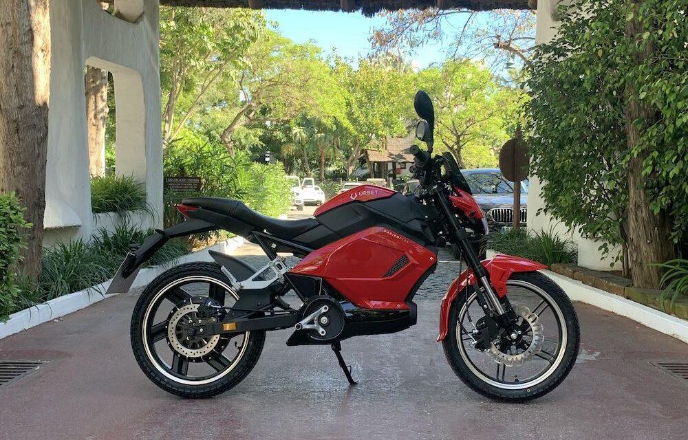 URBET se afianza en el mercado español de motos eléctricas