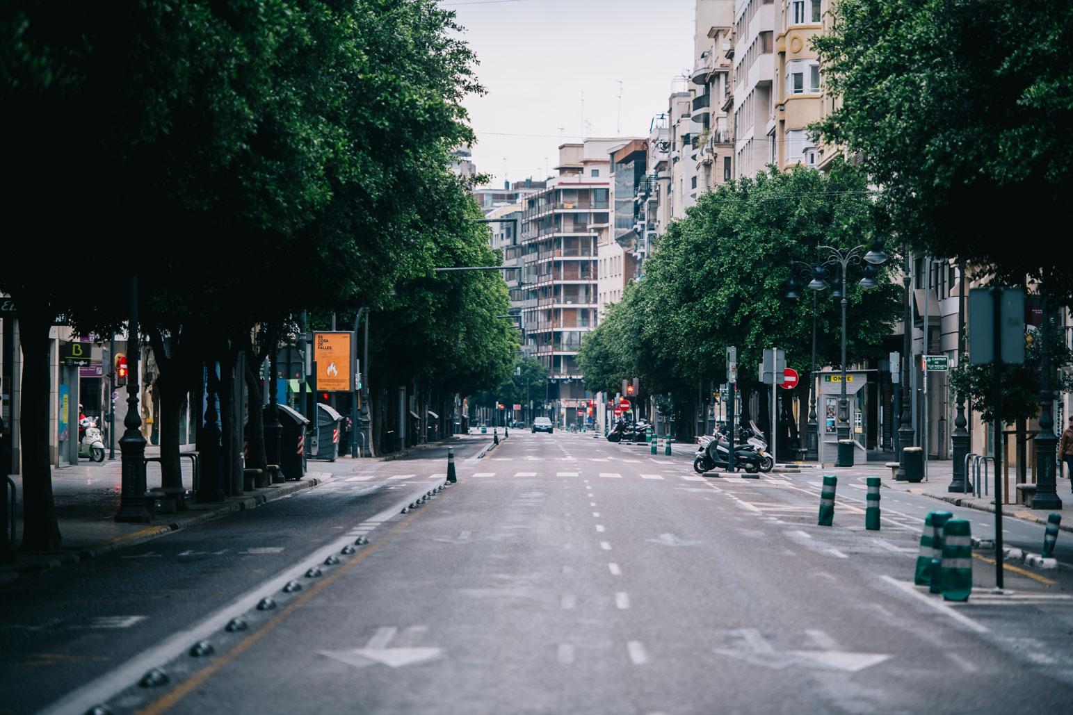 Calle Colón de València. Foto: Kike Taberner