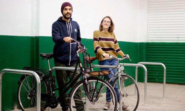 Así es Viu la Bici, el primer 'aparcabicis' de València nacido del crowdfunding