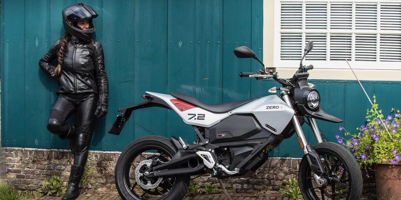 Zero presenta su nueva moto eléctrica FXE