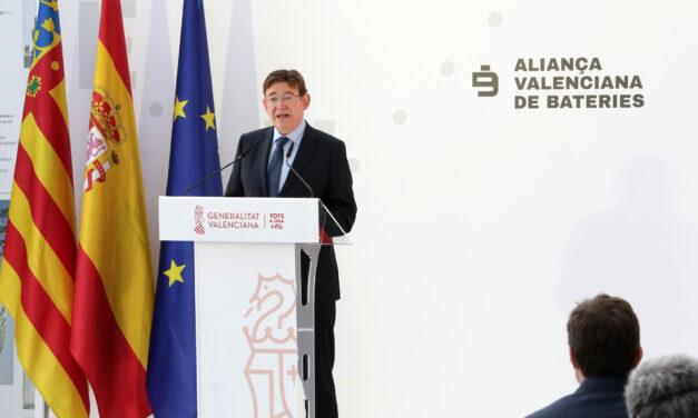 Valencia contará con una 'gigafactoría' de baterías y un centro de investigación con los que se espera crear 30.000 empleos