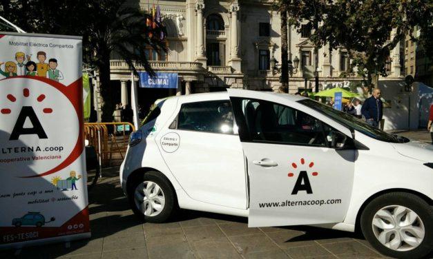 Primera red de carga de coches eléctricos compartidos con energía solar