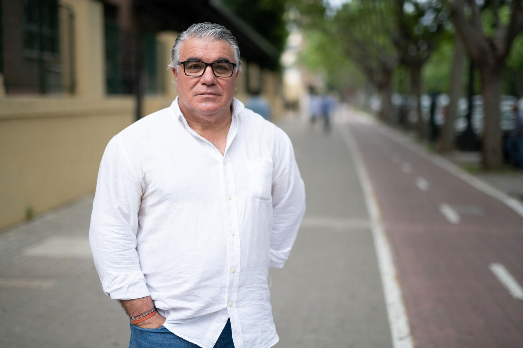 Pedro Cifuentes, presidente de la Asociación de Profesores de Formación Vial de Valencia (APAV).