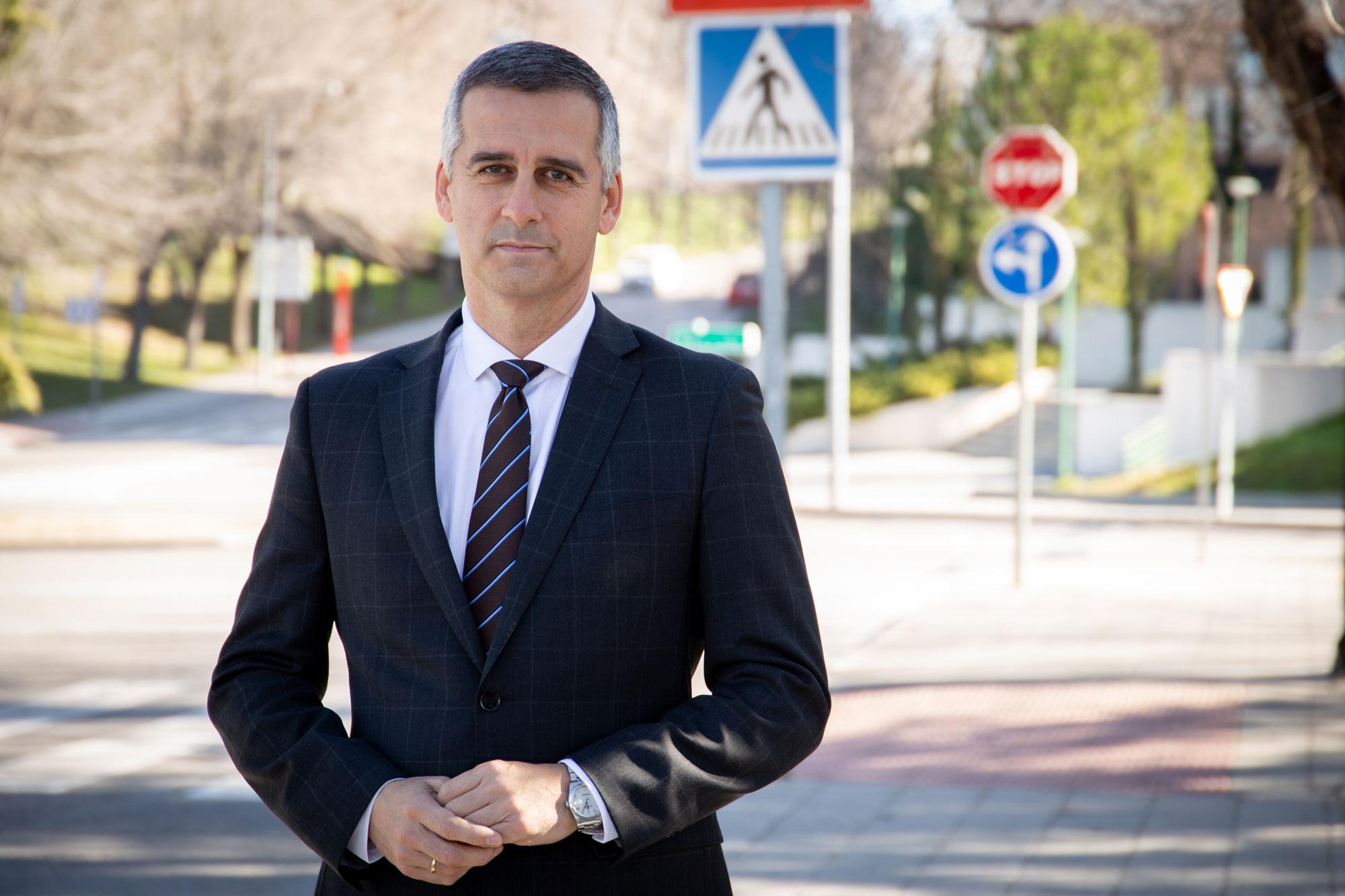 Enrique Lorca, presidente de la confederación Nacional de Autoescuelas (CNAE)