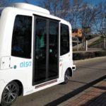 Primer proyecto piloto de autobús autónomo y eléctrico en un campus universitario español