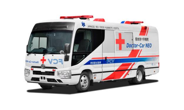 Cruz Roja y Toyota desarrollan la primera ambulancia propulsada por pila de combustible de hidrógeno