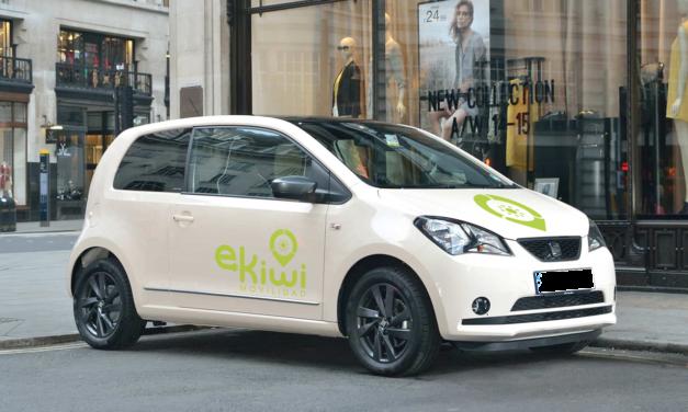 eKiwi lanza campaña de 'crowdfunding' para implantar el primer servicio de coche compartido eléctrico en Valladolid