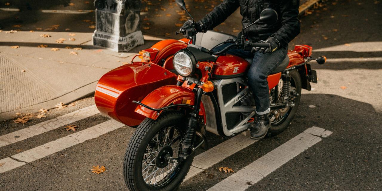 Ural presenta su primer prototipo de sidecar eléctrico
