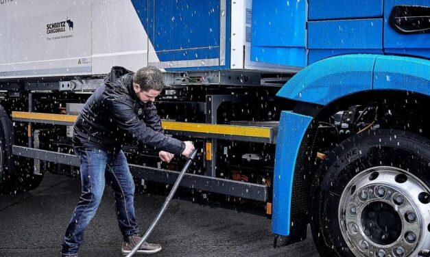 El transporte de mercancías reclama una infraestructura de recarga para camiones de cero emisiones