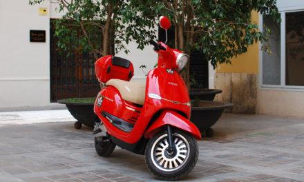 Ebroh Spuma Li, el scooter eléctrico con estética 'vintage' para la ciudad