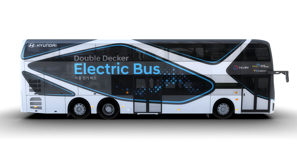 Hyundai presenta un autobús eléctrico de dos pisos con 300 km de autonomía