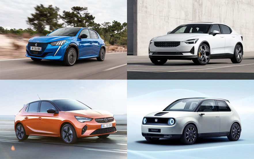 Los nuevos coches eléctricos que podremos conducir en 2020