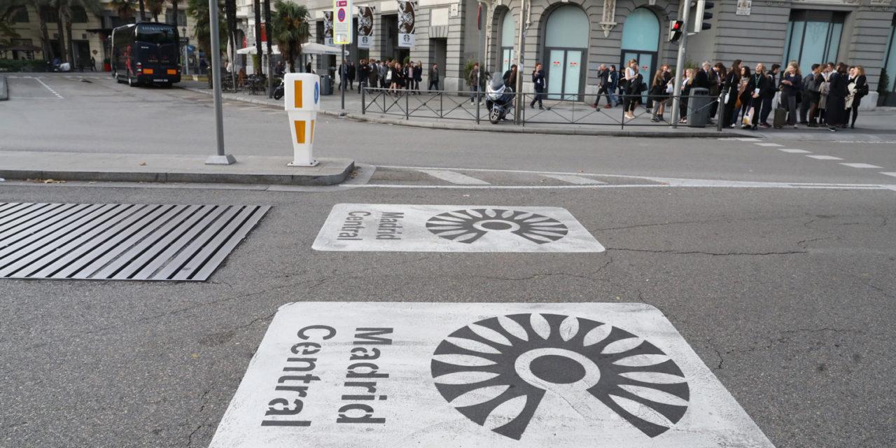 Primeras cifras de Madrid Central: más transporte público y menos tráfico