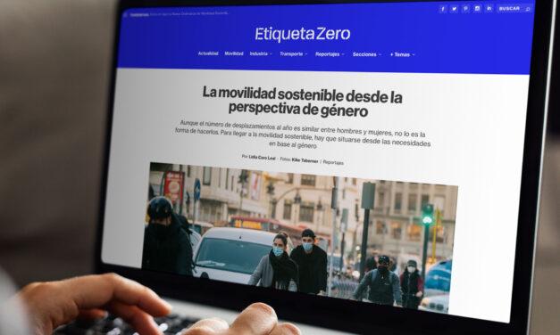 Etiqueta Zero recibe el reconocimiento de los Premios de la Semana Española de la Movilidad Sostenible