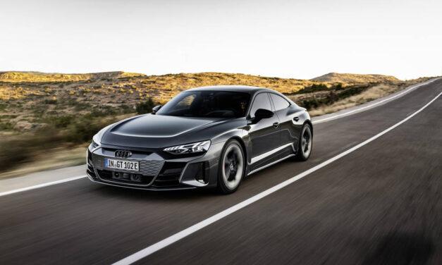 Audi iniciará en España en junio las entregas del eléctrico e-tron GT