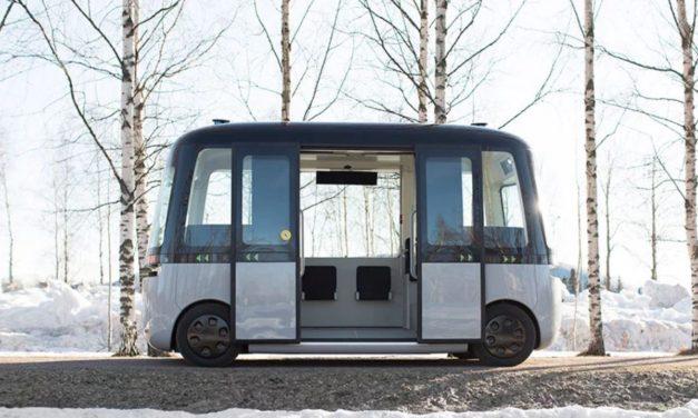 Así es el servicio de autobús autónomo diseñado por Muji en Finlandia