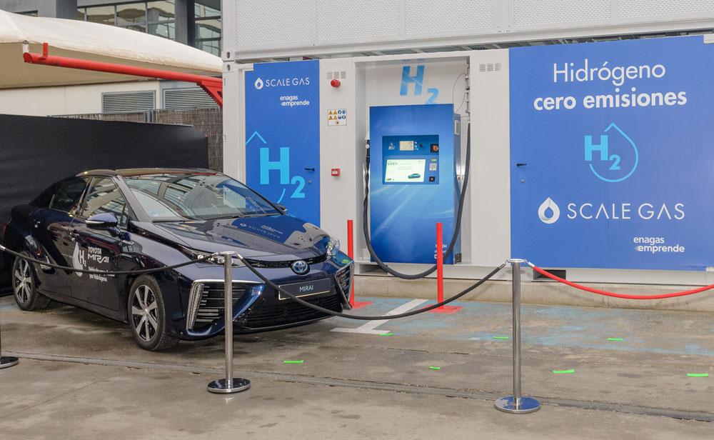 Abre en España primera hidrogenera para repostar vehículos de gran autonomía
