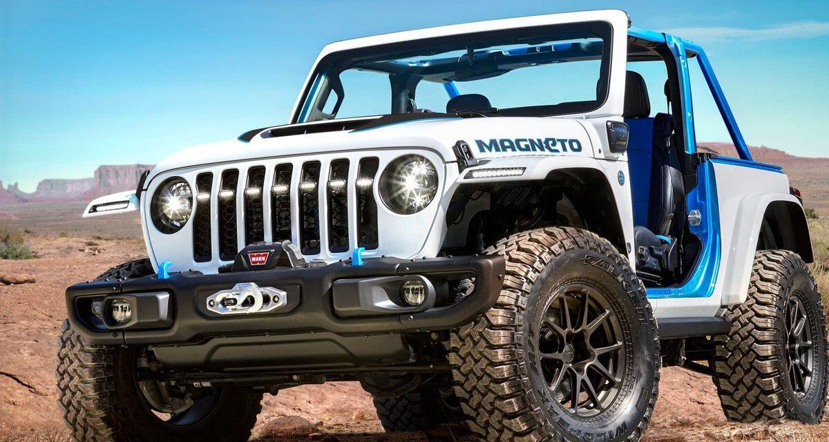 Jeep Magneto, el prototipo eléctrico del clásico Wrangler Rubicon