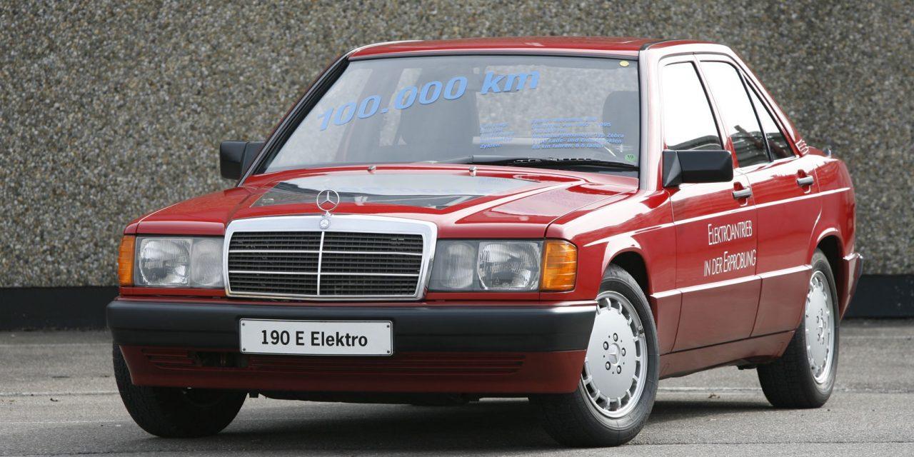 Mercedes-Benz 190 eléctrico