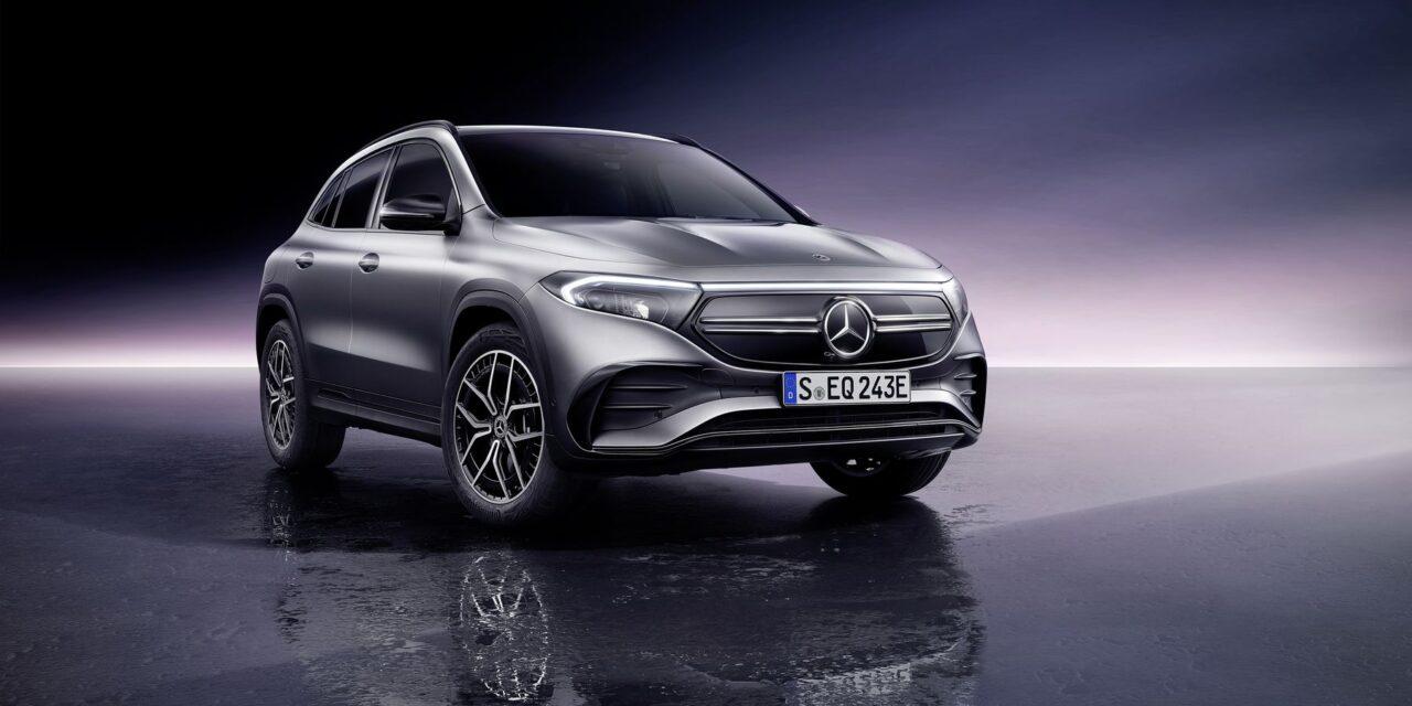 Mercedes EQA, el eléctrico compacto que llegará en primavera con una autonomía de hasta 426 kilómetros