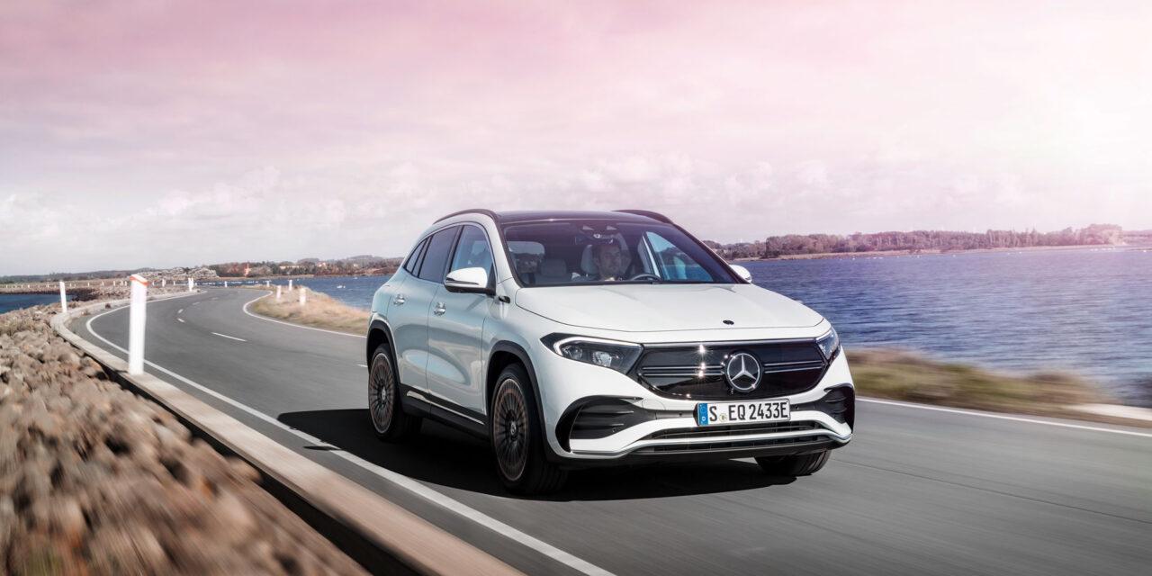 Mercedes inicia comercialización del EQA, su compacto eléctrico, y anuncia precios