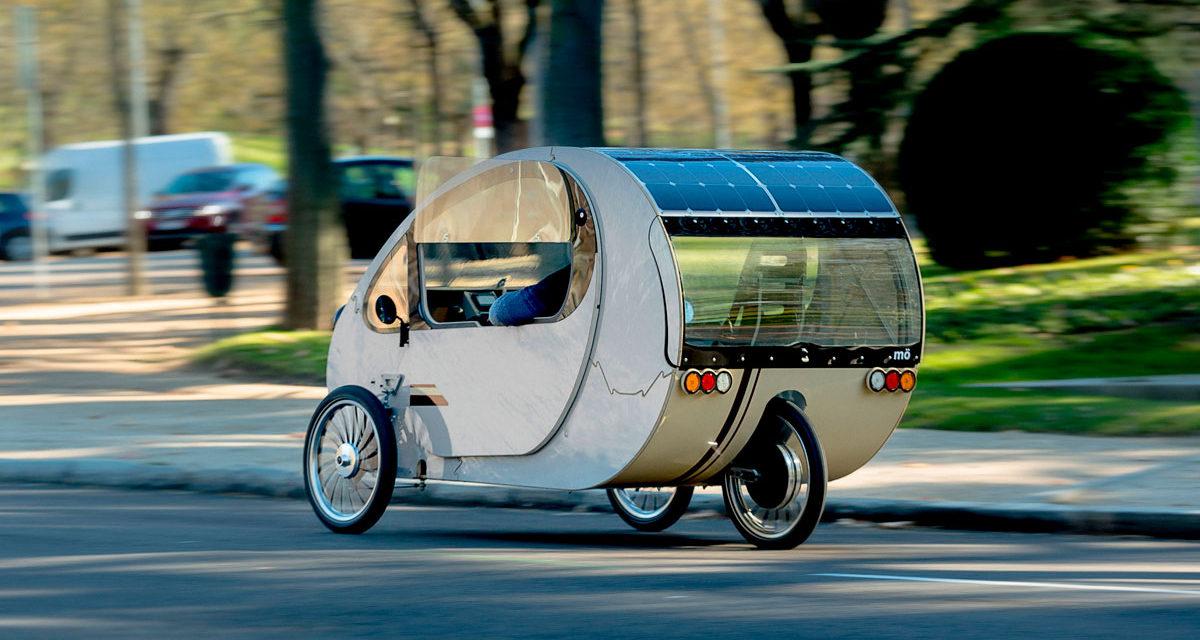 Mö, el vehículo bio-híbrido solar para desplazamiento diario