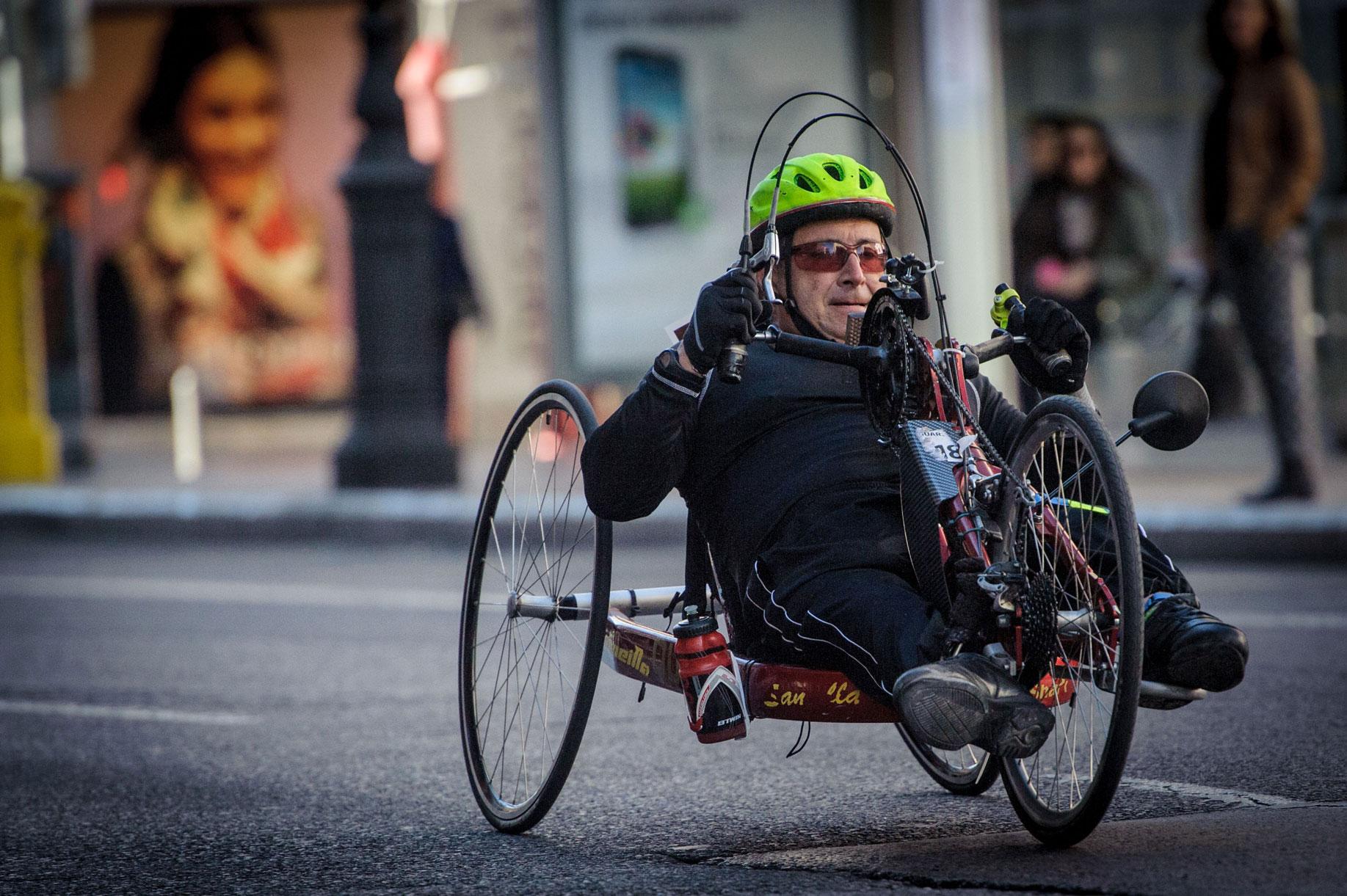 Movilidad y diversidad. Foto: Kike Taberner