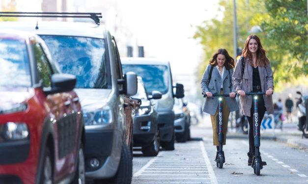 Movo, la filial de Cabify de servicios de sharing, desembarca con sus patinetes eléctricos en València