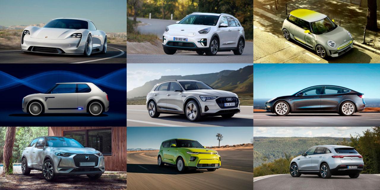 Los coches eléctricos que llegarán este año 2019
