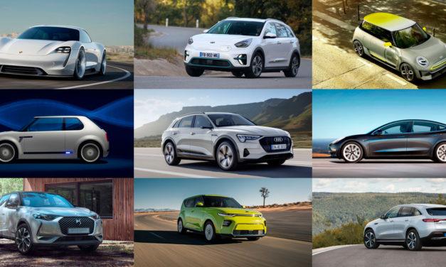 Los coches eléctricos que llegarán este año