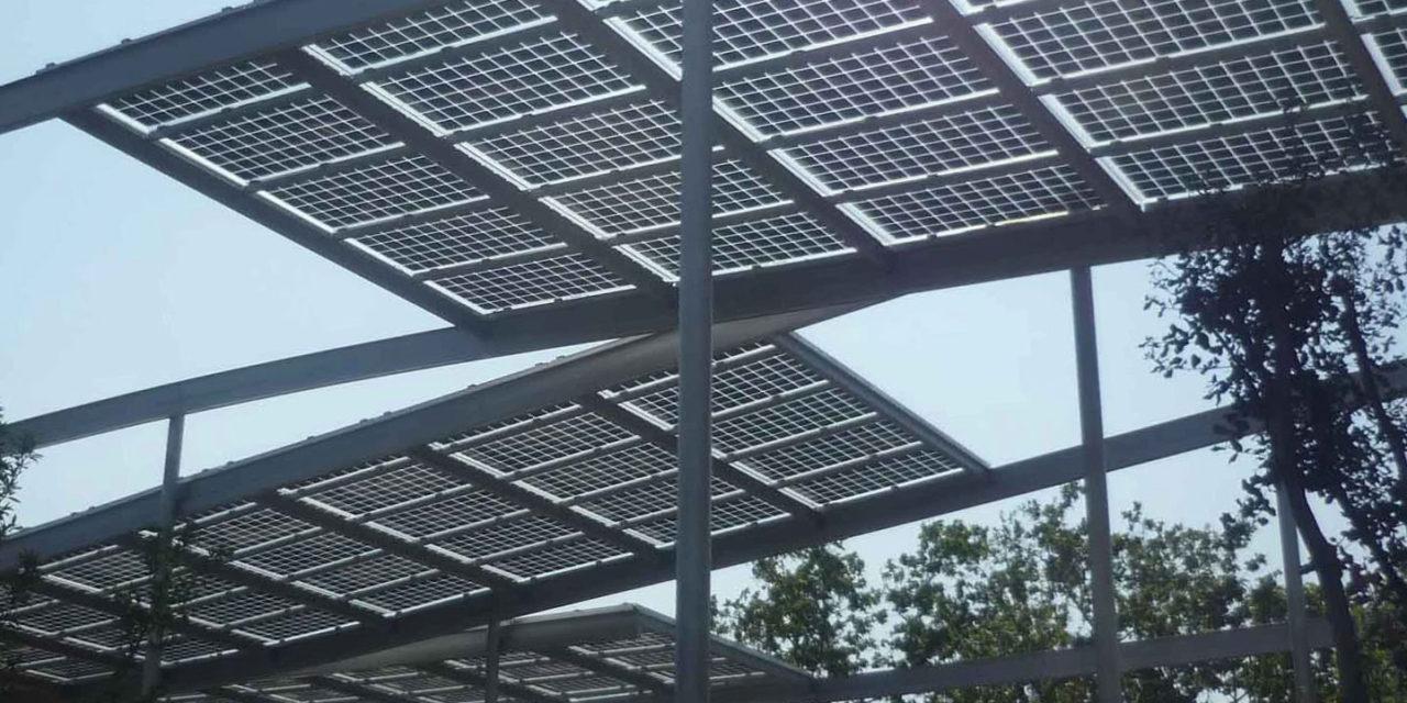 El Ayuntamiento de València instalará cinco nuevas pérgolas fotovoltaicas con puntos de carga para vehículos eléctricos