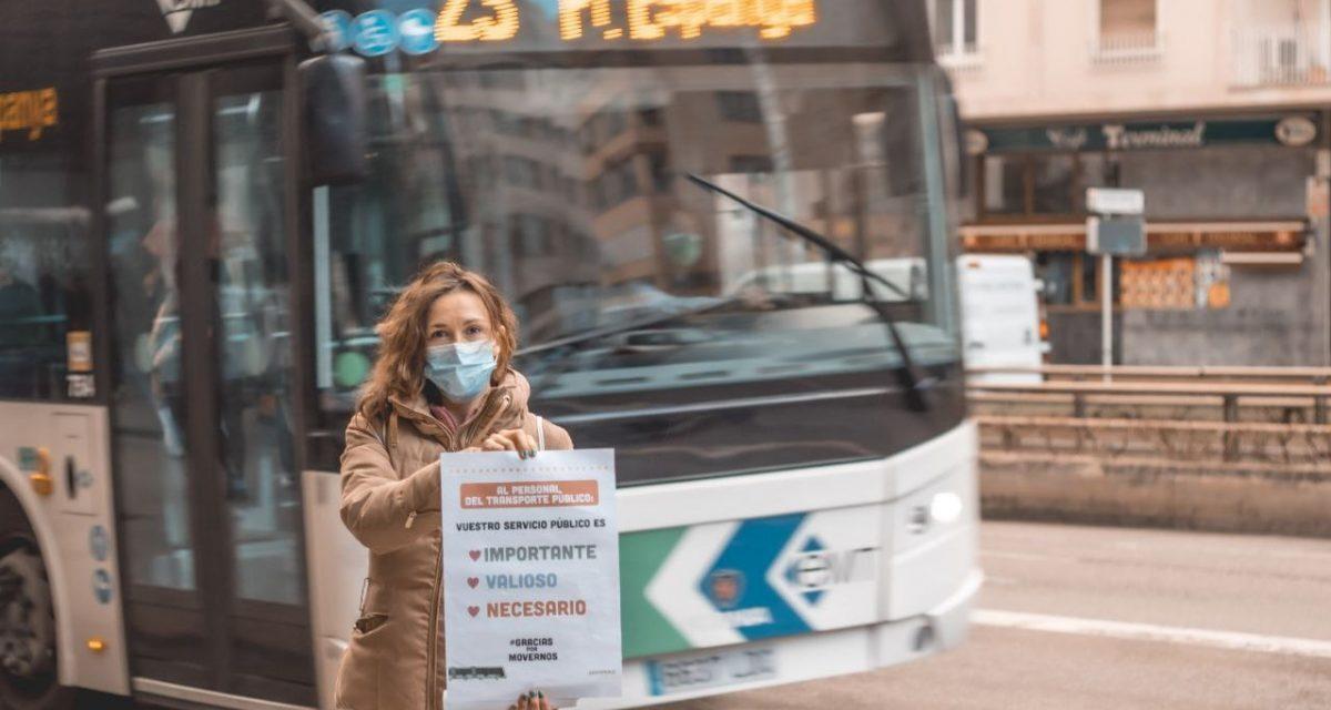 Greenpeace agradece el trabajo del trasporte público durante la pandemia