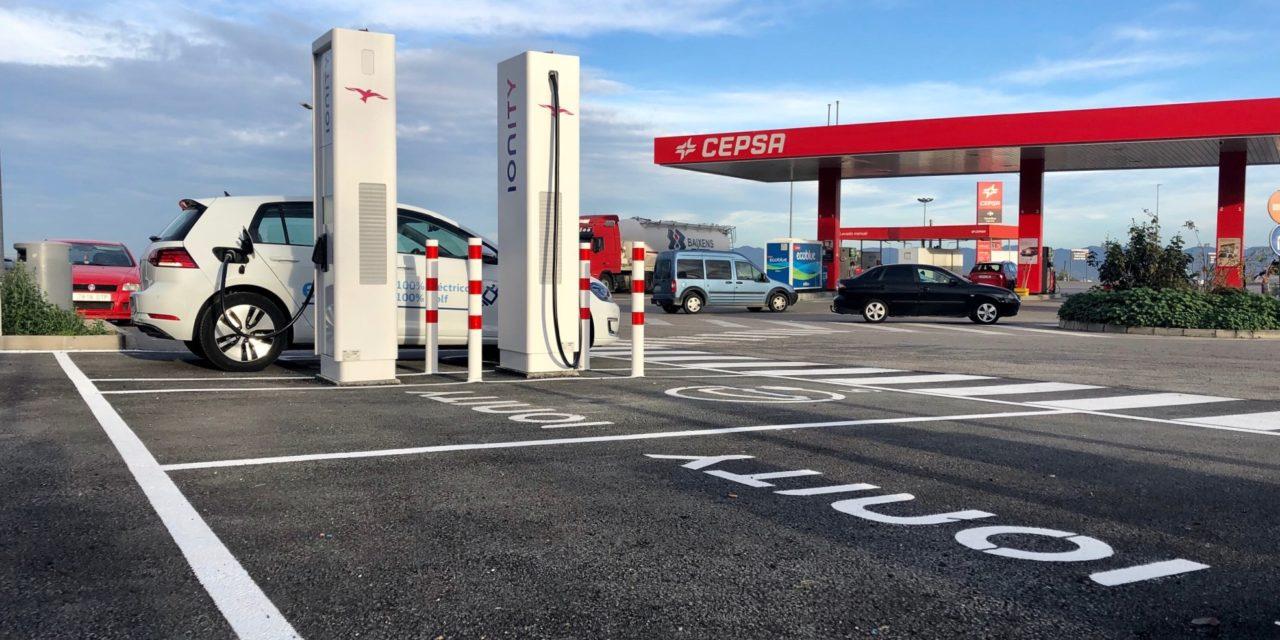 La red Ionity pone en marcha una instalación de recarga ultrarrápida en Murcia