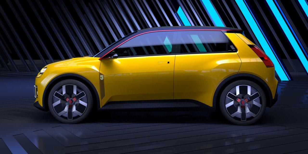 Renault recupera el Renault 5 para 'democratizar' los eléctricos en Europa