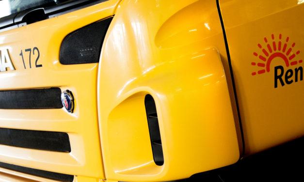 Scania desarrolla un camión de basura de pila de combustible