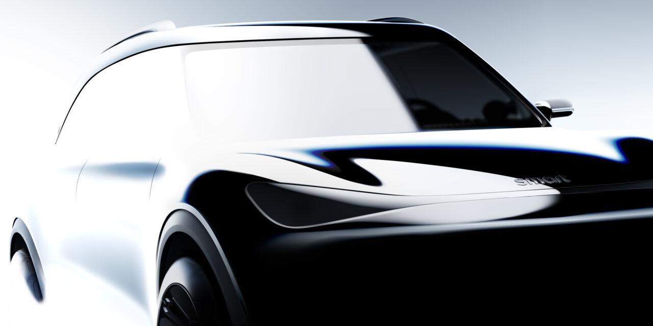 Smart muestra su nuevo SUV compacto y totalmente eléctrico