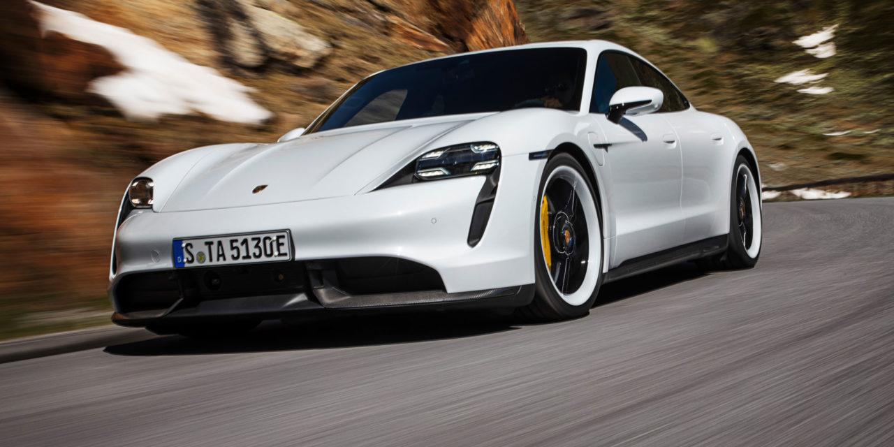 Taycan, el primer deportivo eléctrico de Porsche ya está aquí