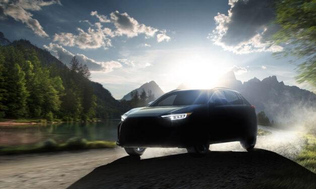 Solterra, el nombre que ha elegido Subaru para su primer SUV eléctrico