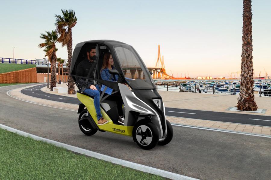 Torrot Velocipedo, entre el coche y el 'scooter' eléctrico