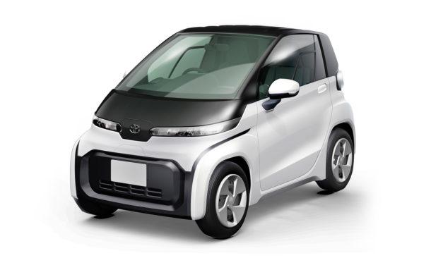 Toyota presenta un micro-coche eléctrico de dos plazas listo para producción
