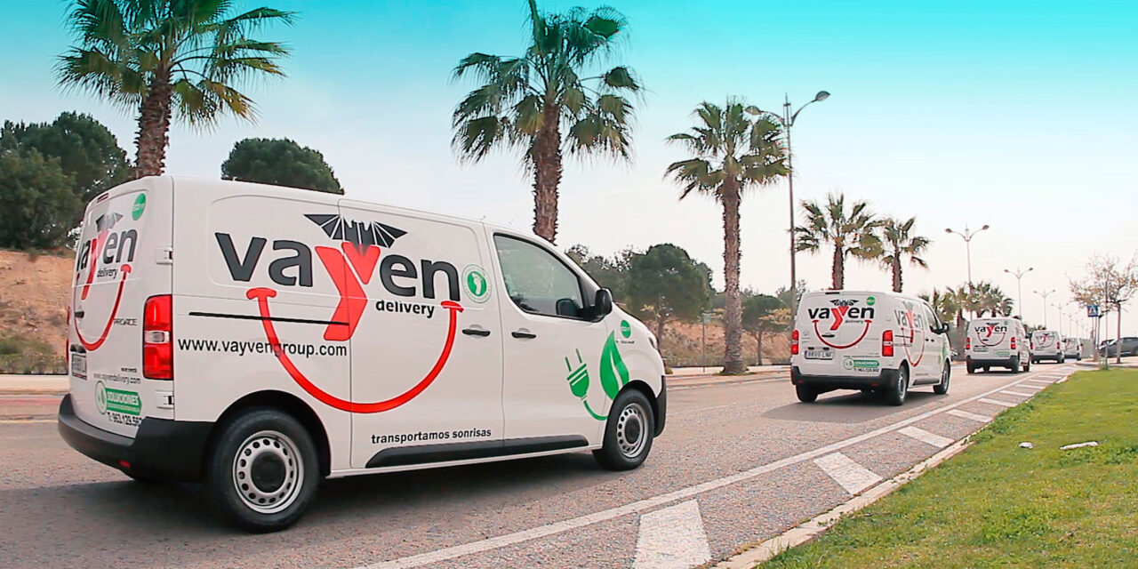 La empresa valenciana de logística Vayven Delivery electrifica su flota con 17 unidades de la Toyota Proace Electric