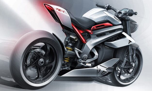 Triumph prepara su primera moto eléctrica, la TE-1, con la ayuda de Williams
