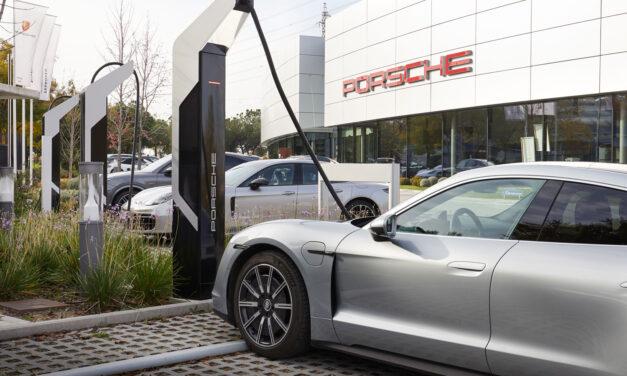 Porsche inaugura la estación de carga más potente de España