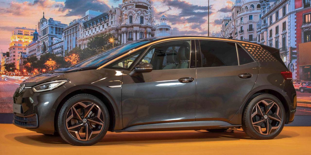 El Volkswagen ID.3 llegará a España en verano con hasta 550 km de autonomía