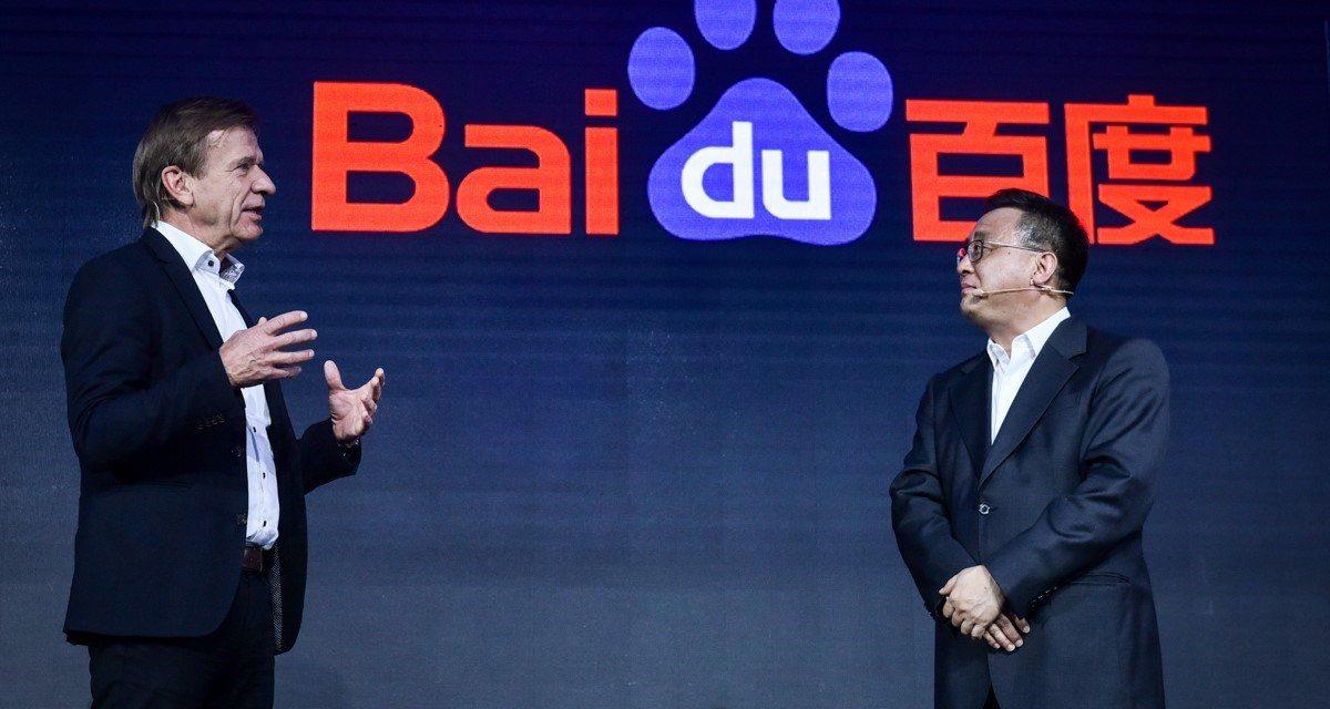 Volvo y Baidu se unen para fabricar coches eléctricos y autónomos en China