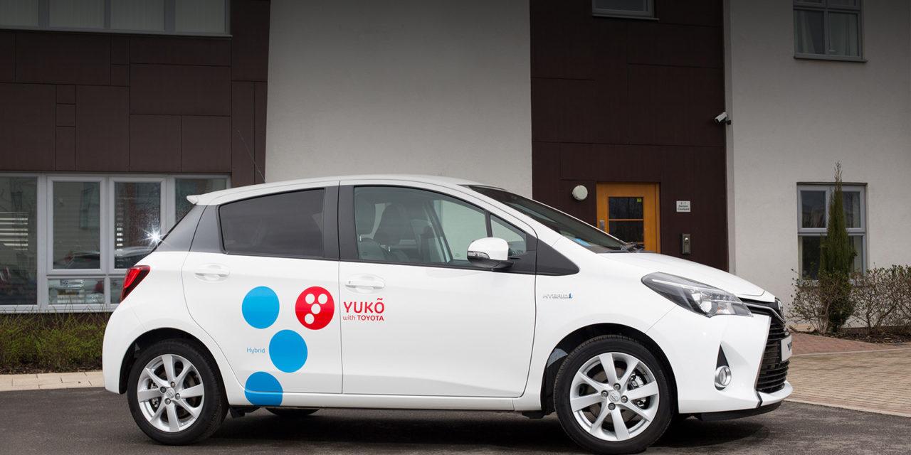 Toyota inicia la prueba de YUKÕ, su 'carsharing' corporativo, en Reus
